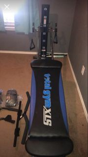 Total Gym XLS - LIKE NEW with accessories! Used 2 times! Retails $1000+, only 6 mos old!