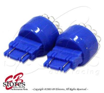 Purchase Set of 2pcs Blue Parking Light 19 LED Light Bulbs 3457A 3357 3057- 3157 1 Pair motorcycle in Walnut, California, US, for US $5.95