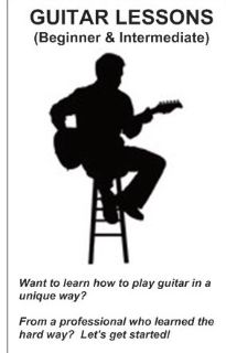 GUITAR Lessons (Beginner/Intermediate)