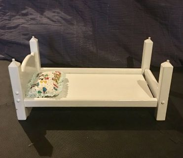 Four bed bunk bed for American Girl Dolls