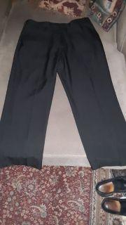 "Men's size 36"" × 30"" Black Perry Ellis Dress Pants"