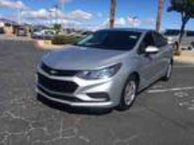 Used 2016 Chevrolet Cruze Silver Ice Metallic, 59.5K miles