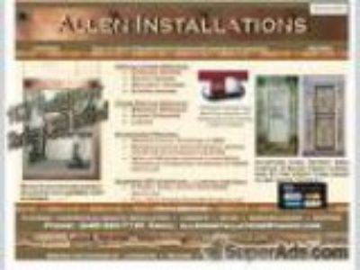 Doors Install Repair Floors Roofing Siding Decking Cabinets etc.