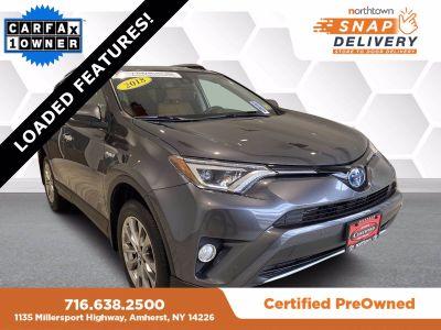 2018 Toyota RAV4 Limited (Magnetic Gray)