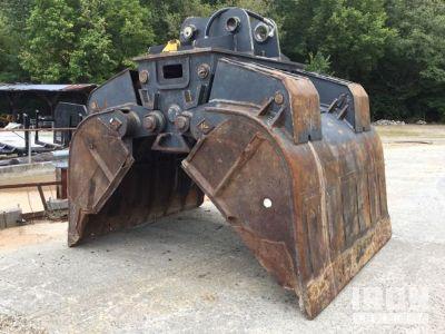 Pemberton Excavator Grapple - Fits John Deere/Hitachi 450-470