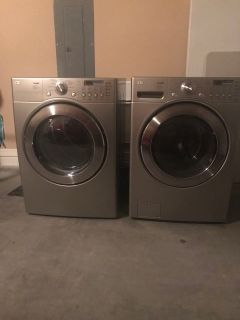 LG Tromm Washer and Dryer (electric)