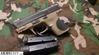 For Trade: Beautiful S&W, M&P 9C, FDE