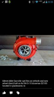 billet duramax turbo