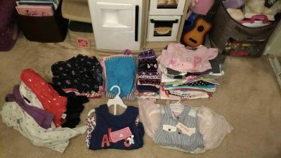 Huge lot of EUC and brand new Girls mixed sizes 2T-4T