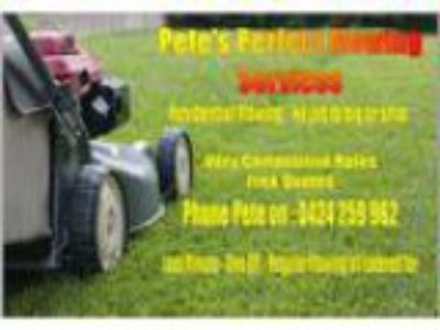 Pete s Perfect Mowing Services