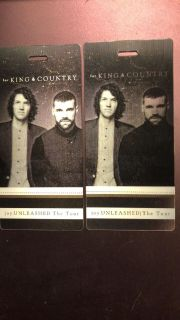 For King and Country and Skillet floor seats tickets
