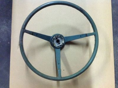 Sell NO RESERVE 1965-1966 MUSTANG STEERING WHEEL OEM Free Shipping motorcycle in South Elgin, Illinois, United States