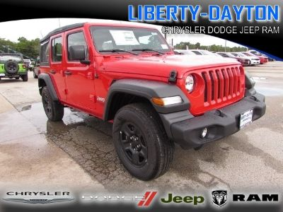 2018 Jeep Wrangler Unlimited UNLIMITED SPORT 4X4 (Firecracker Red)