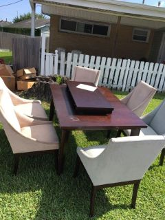 Wood Kitchen table & chairs$150 obo