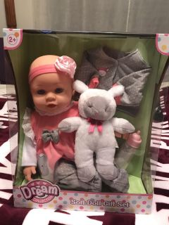 Dream Collection Baby doll gift set NEW