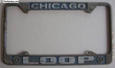 [WTB] Chicago Loop VW plate frame