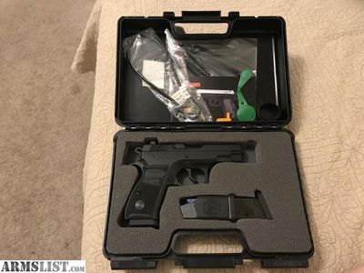 For Sale: Tristar Canik C-100 CZ-75 Compact Clone - 40 S&W - Forged Steel Frame - Like New Condition