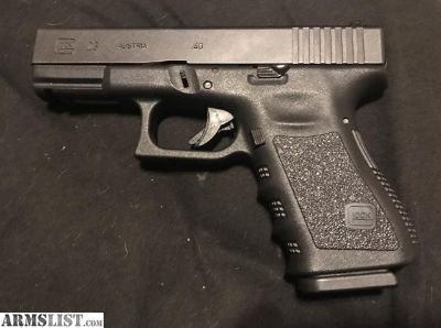 For Sale/Trade: Glock 23 Gen 3 .40SW 13+1