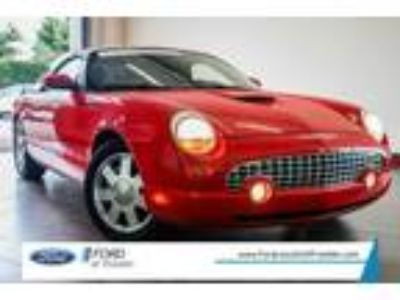 used 2002 Ford Thunderbird for sale.