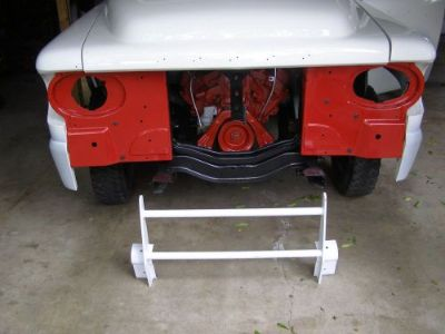 Purchase 1957, 58 Dodge D-100 Sweptside Grill Guard motorcycle in Springfield, Ohio, United States