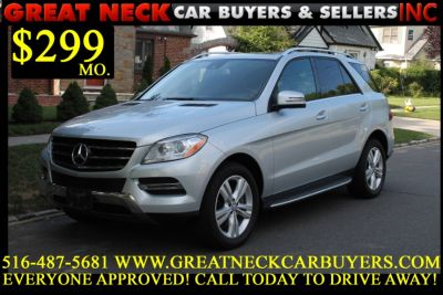 2015 Mercedes-Benz M-Class 4MATIC 4dr ML350 (Iridium Silver Metallic)