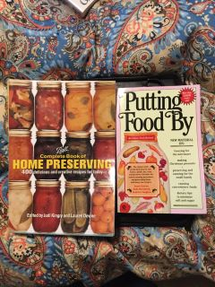 Preserving cook books