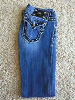 Miss Me Jeans-Boot, Size 28