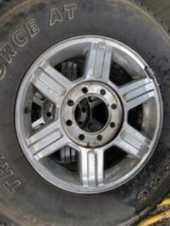 ram 2500 rims and tires