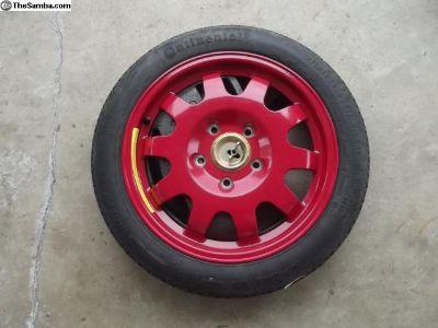 "Porsche 17"" Spare Tire Kit"