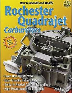 Buy SA Design SA113 How to Build and Modify Rochester Quadrajet Carburetors motorcycle in Delaware, Ohio, United States, for US $24.95