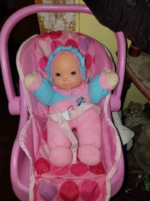 Baby and Car Seat