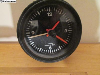 Porsche 911 VDO Clock Part No. 911 641 701 29