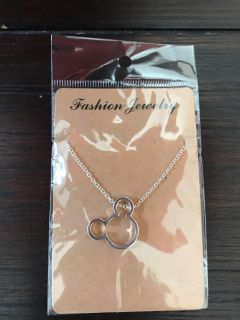 Mickey Mouse necklace 15-18 adjustable clasp NEW!