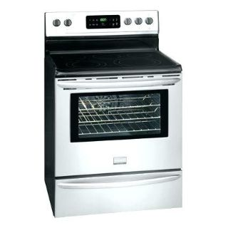 Stove-Range-Stainless steel-black Glass top-Frigidaire