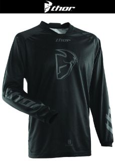 Buy Thor Phase Cold Weather Black Off-Road Dirt Bike Jersey MX ATV Dual Sport 2014 motorcycle in Ashton, Illinois, US, for US $39.95