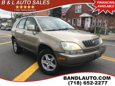 2003 Lexus RX 300 Base (Savannah Metallic)