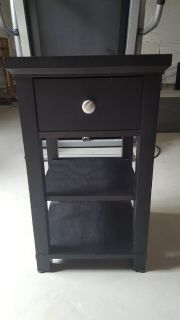 Black side table (2 available)