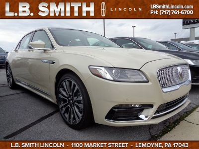 2018 Lincoln Continental Reserve (Ivory Pearl Metallic)