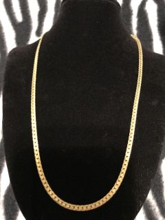 goldplated ladies necklace