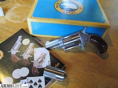 For Sale: NAA Mini 22 Magnum / LR Both Cylinders LNIB
