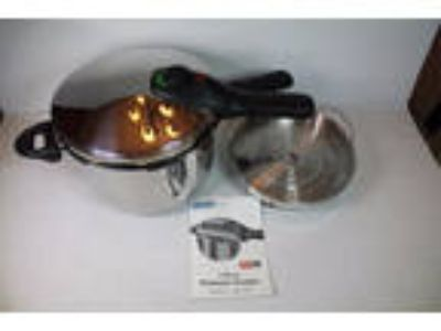Innova Ultrex 8 Quart Pressure Cooker 65999 stove top