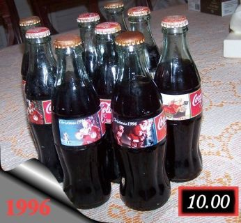 FULL BOTTLES OF COKE