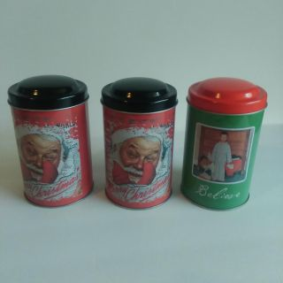 3 New cookie tins
