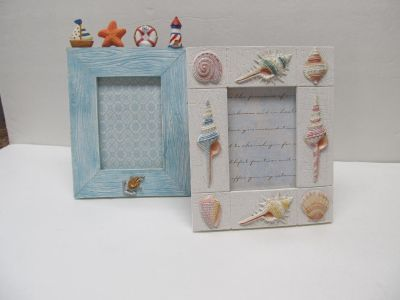 Coastal Picture Frames $2 Each