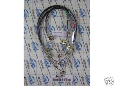 Find Cable Set, 1969- 71 GTO Tempest Lemans [26-5569] motorcycle in Fort Worth, Texas, US, for US $54.00