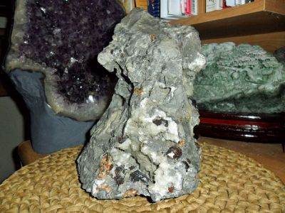 Gorgeous Massive Sphalerite Grossular Garnet Gemstone Cluster