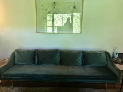 Organic Modernism Used Couch - 2 Years Old