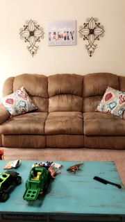 Couch & Loveseat with recliners
