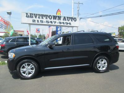 2011 Dodge Durango Crew (Brilliant Black Crystal Pearl)