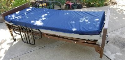 Full Electric Hospital Bed, with Mattress